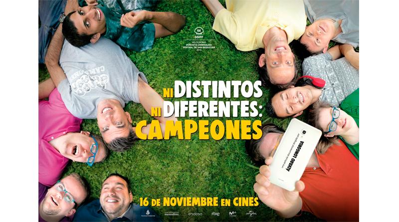 'Ni distintos ni diferentes: Campeones': Sorteamos camisetas del documental