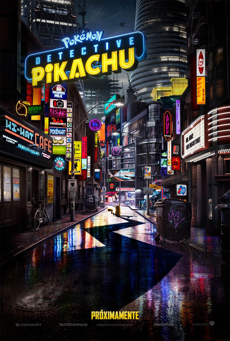 'Pokémon Detective Pikachu': Póster y primer tráiler de la película