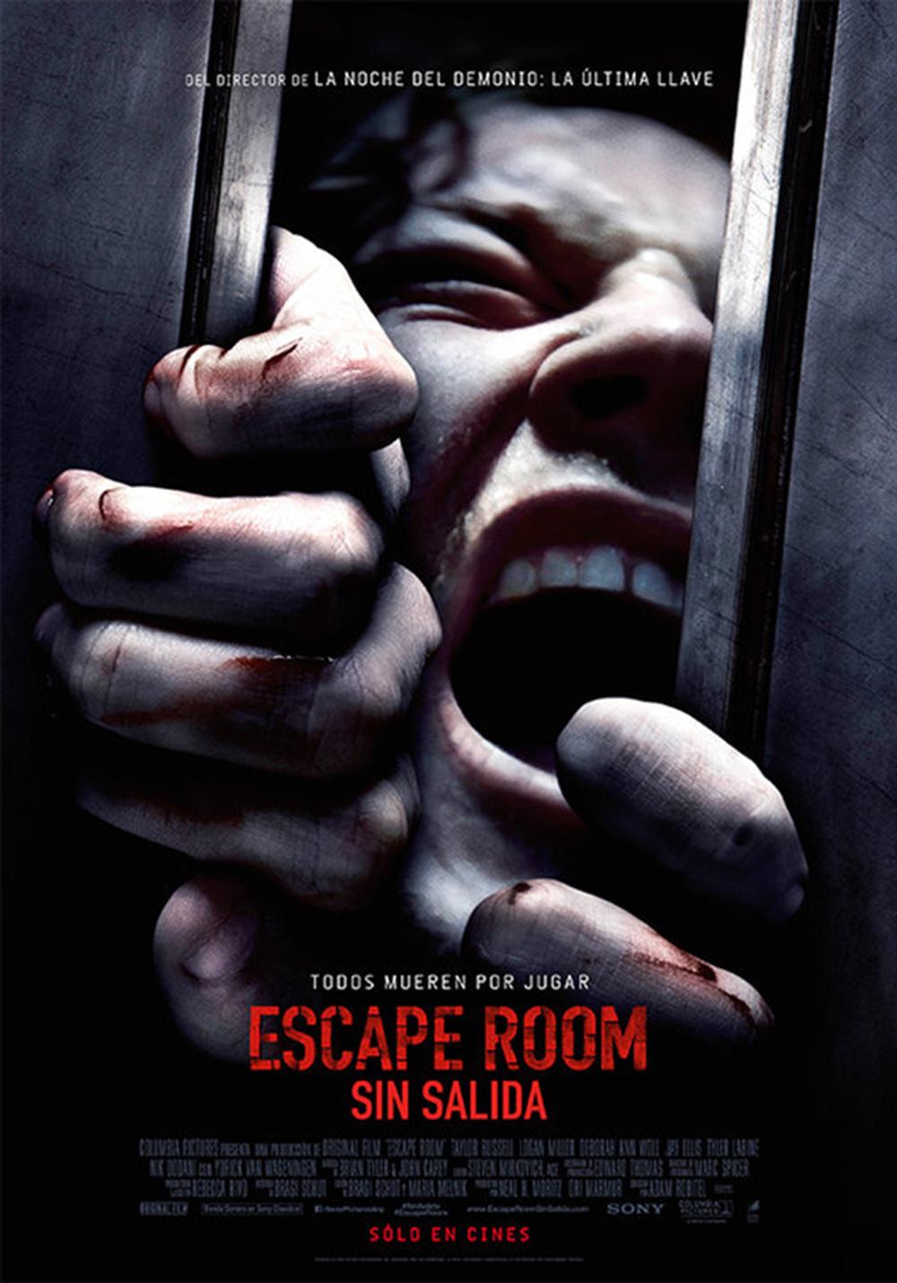 'Escape Room': Póster de la última película de terror psicológico
