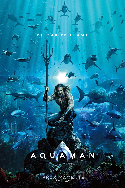 """Pósters de la película """"Aquaman"""""""