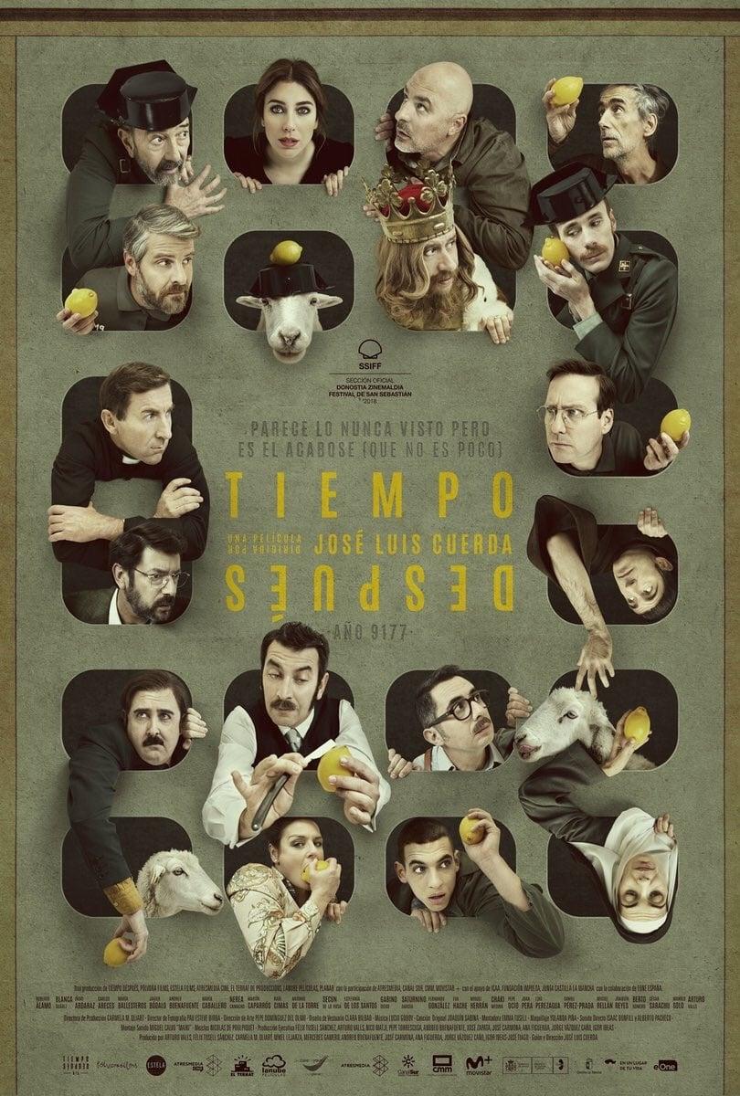 """Pósters de la película """"Tiempo después"""""""