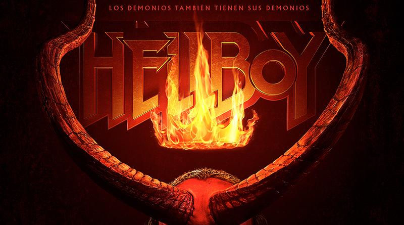'Hellboy': Teaser póster del reinicio de Neil Marshall