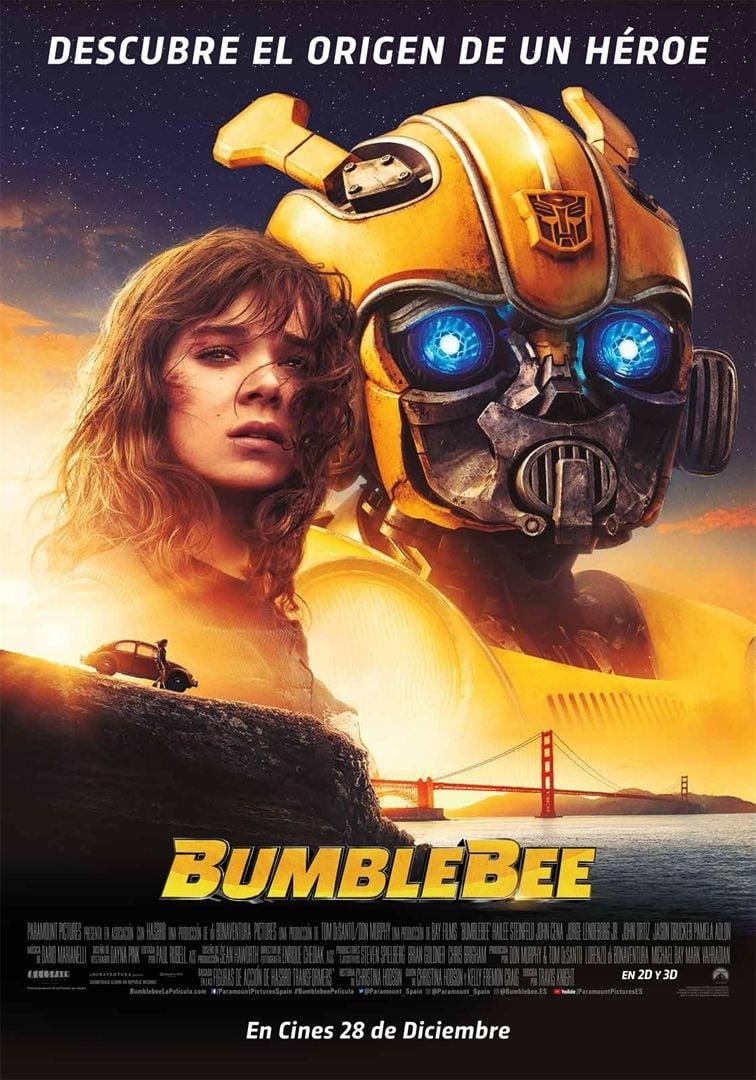"""Pósters de la película """"Bumblebee"""""""