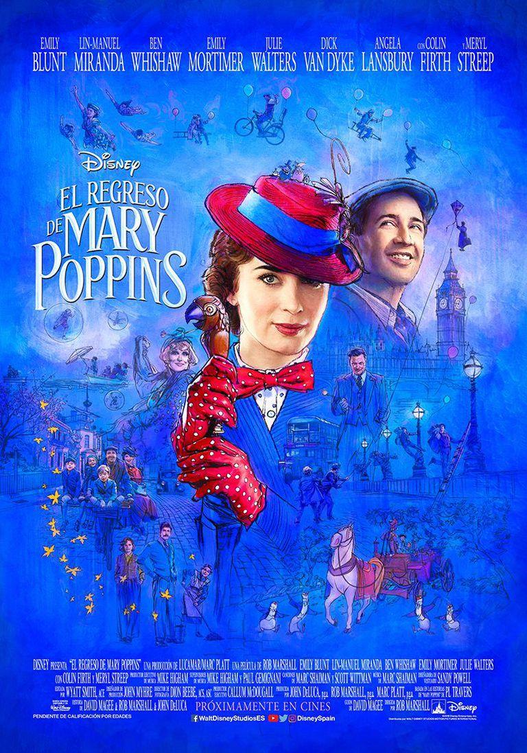 Crítica de 'El regreso de Mary Poppins': Mas lo que ahora pase, ya pasó otra vez