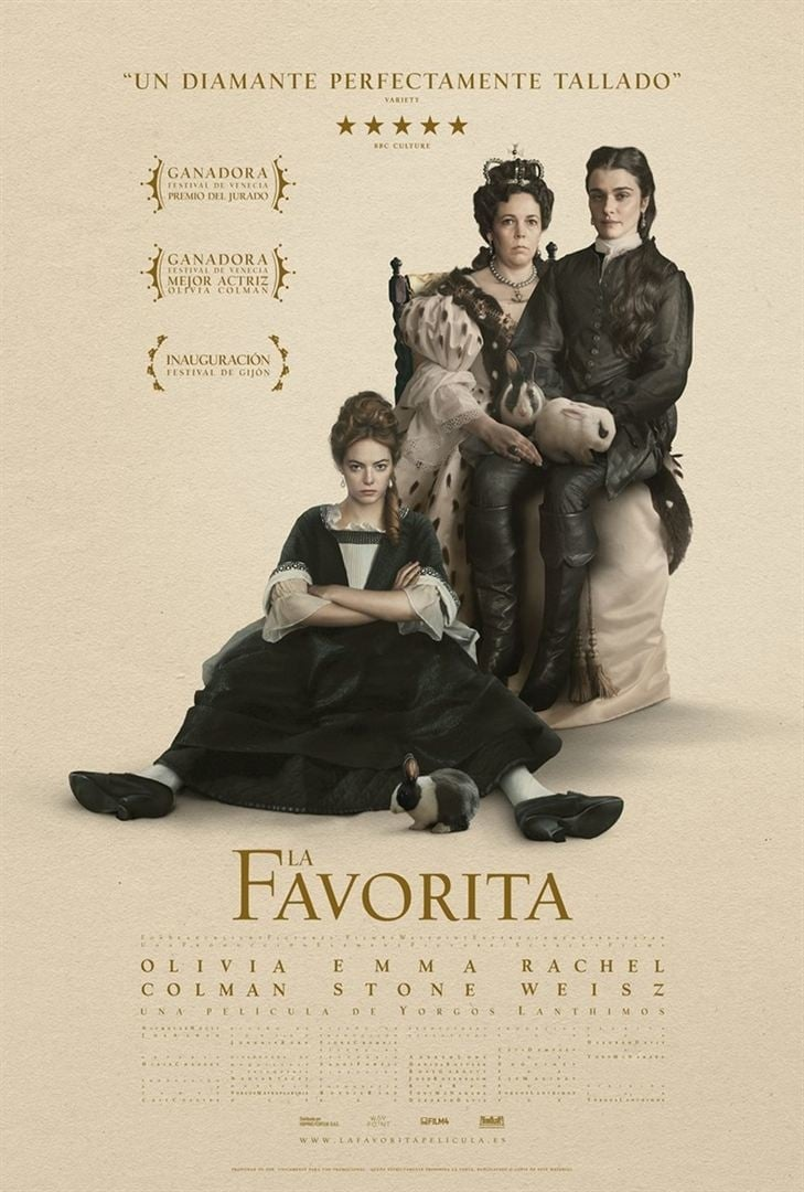 "Pósters de la película ""La favorita"""