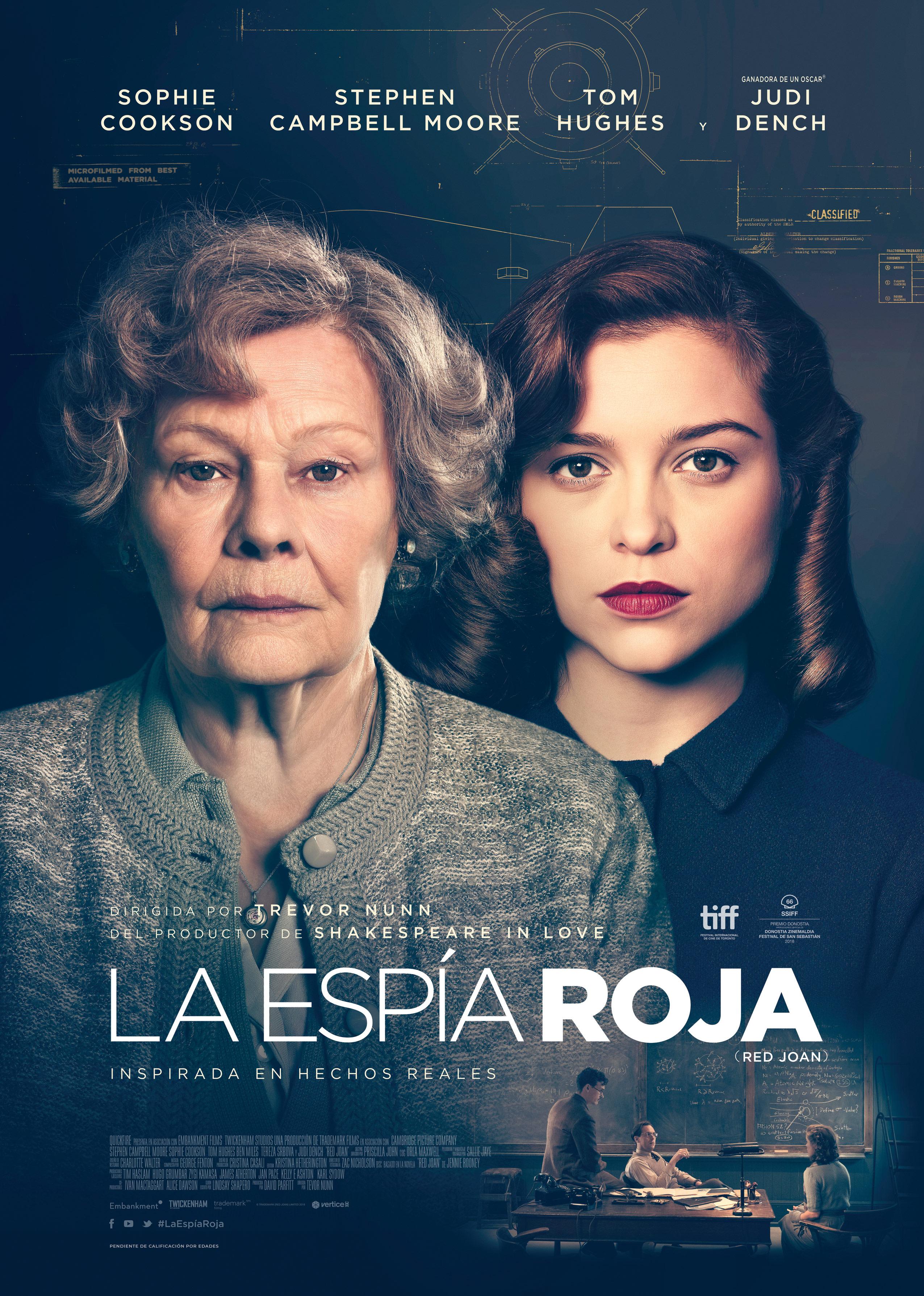 'La espía roja': Póster español de la adaptación de la novela homónima