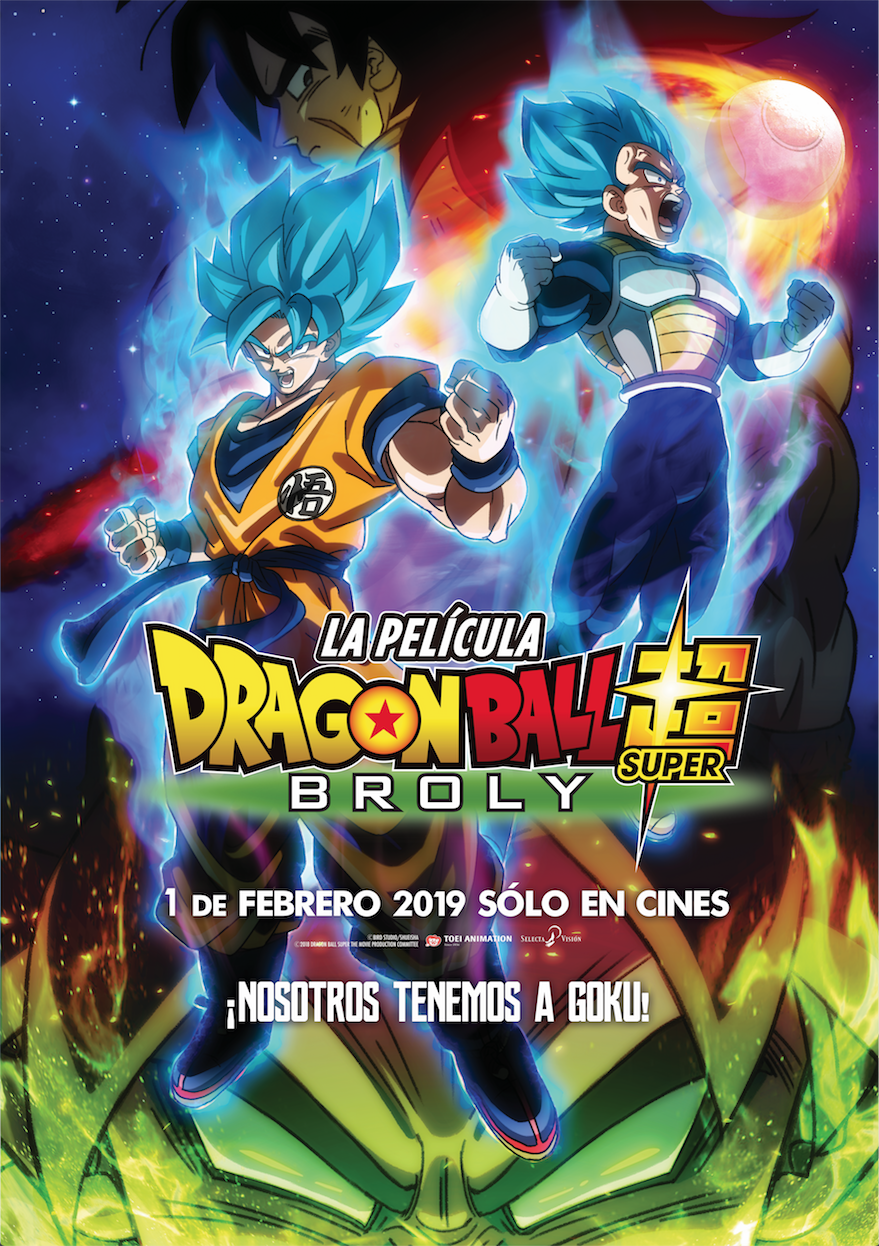 'Dragon Ball Super: Broly': Teaser del regreso de 'Dragon Ball' a los cines españoles