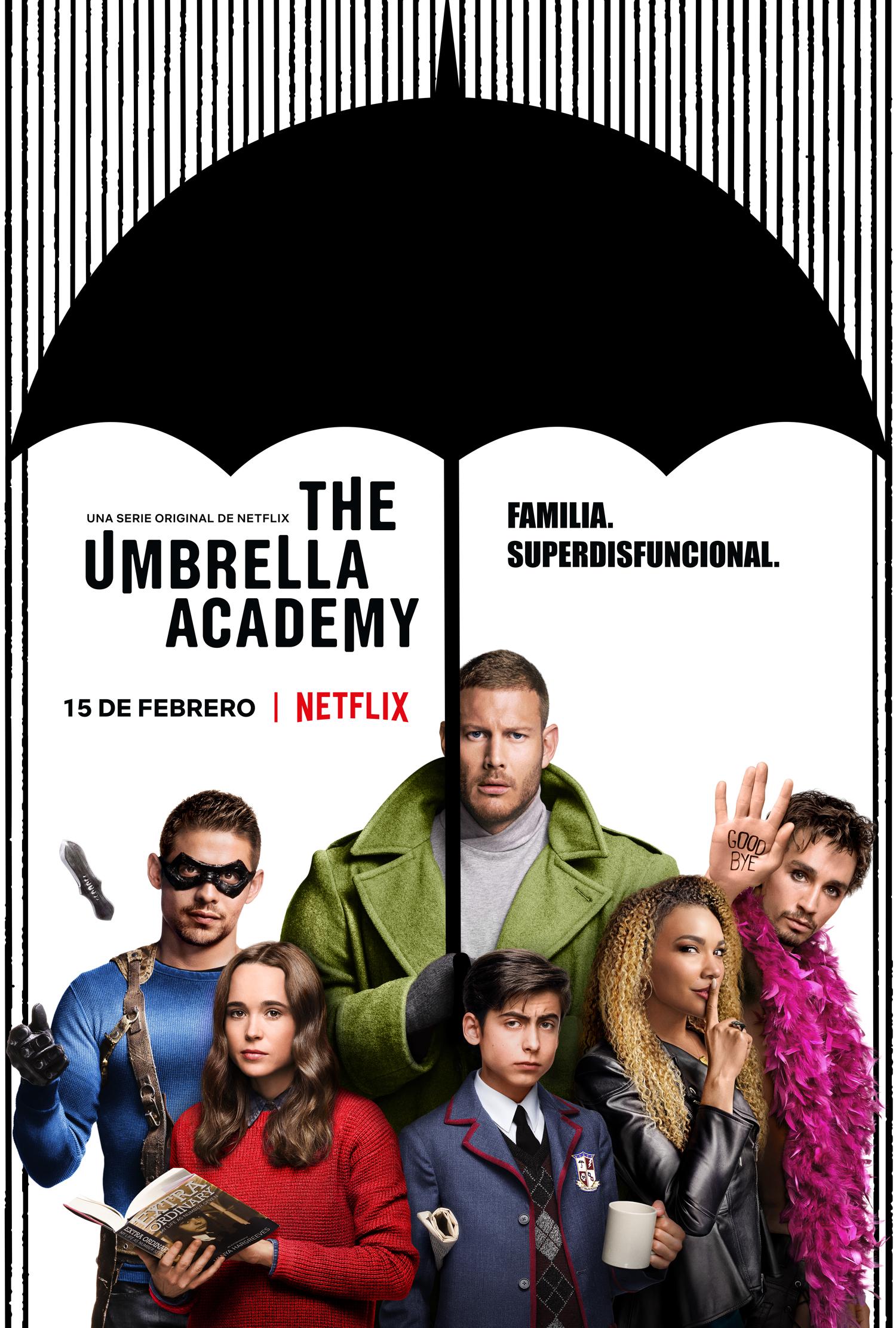 'The Umbrella Academy': Póster y tráiler oficial de la adaptación del cómic