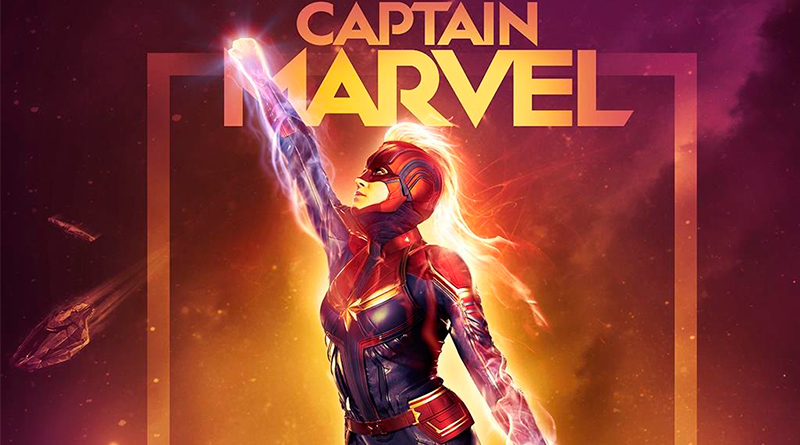 'Capitana Marvel': Pósters exclusivos para salas IMAX y Dolby Cinema