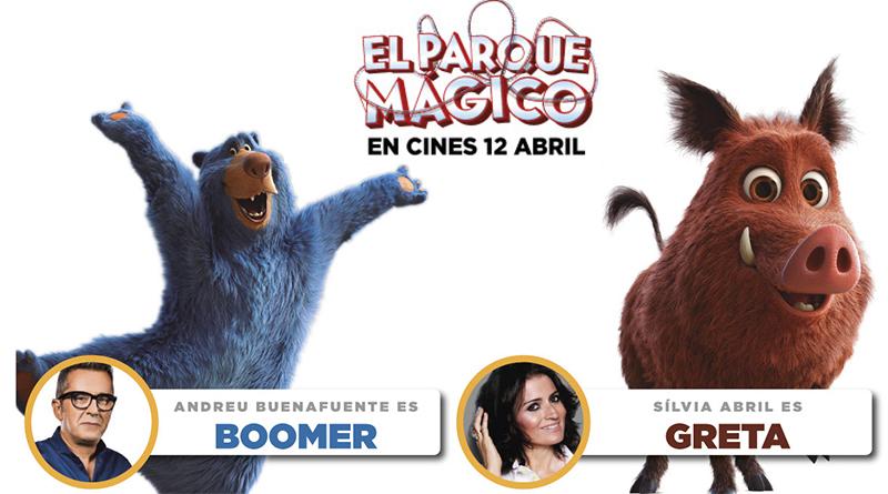 'El Parque Mágico': Andreu Buenafuente y Silvia Abril ponen voz a dos personajes