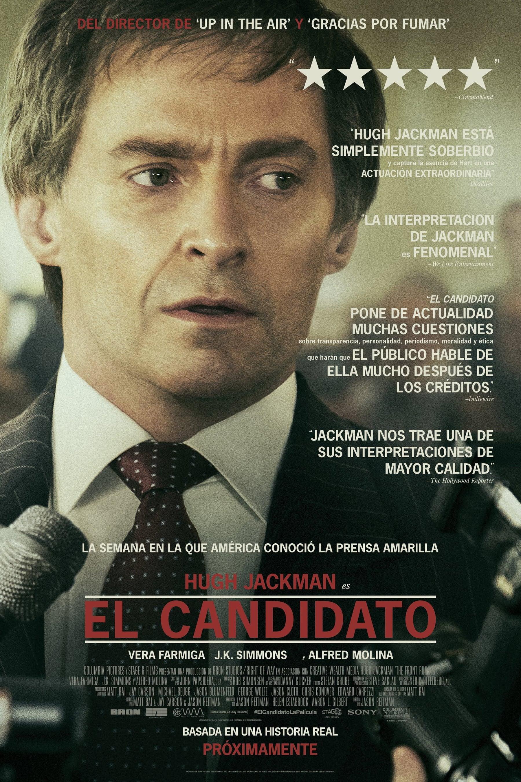 """Pósters de la película """"El candidato"""""""