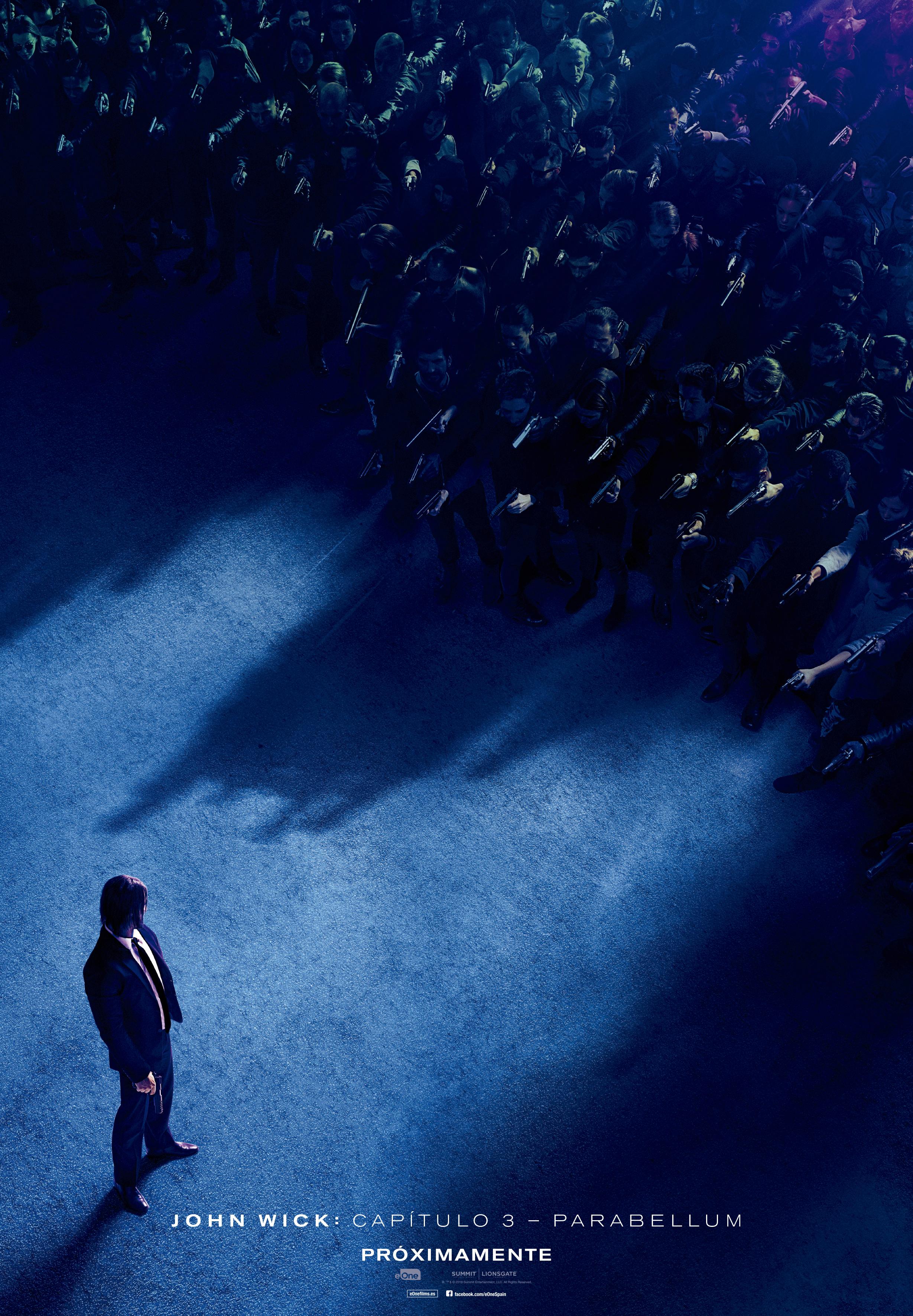 'John Wick: Capítulo 3 - Parabellum': Teaser póster y fecha de estreno en España