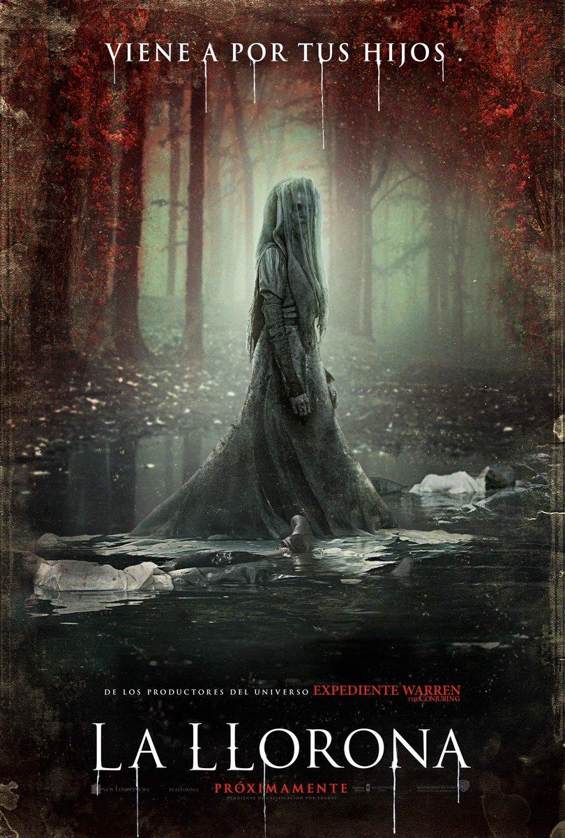 'La Llorona': Nuevo póster de esta aparición aterradora
