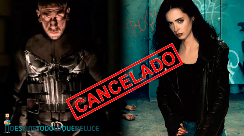 Netflix cancela las series de Marvel 'The Punisher' y 'Jessica Jones'