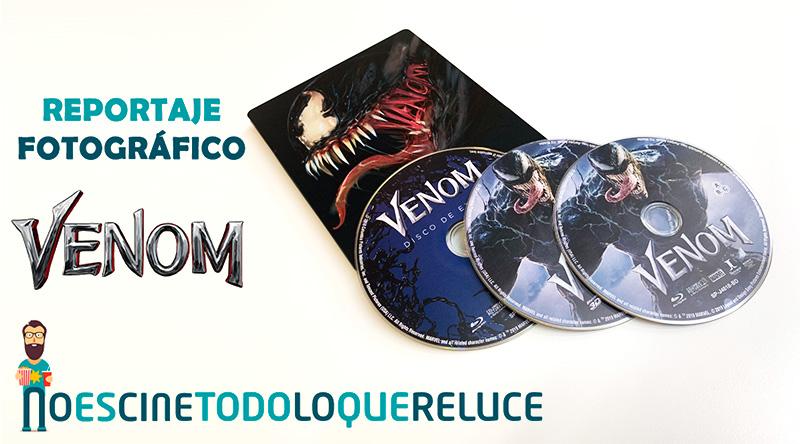 'Venom': Reportaje fotográfico y análisis de la edición metálica (Blu-ray 3D + Blu-ray + Blu-ray de extras)