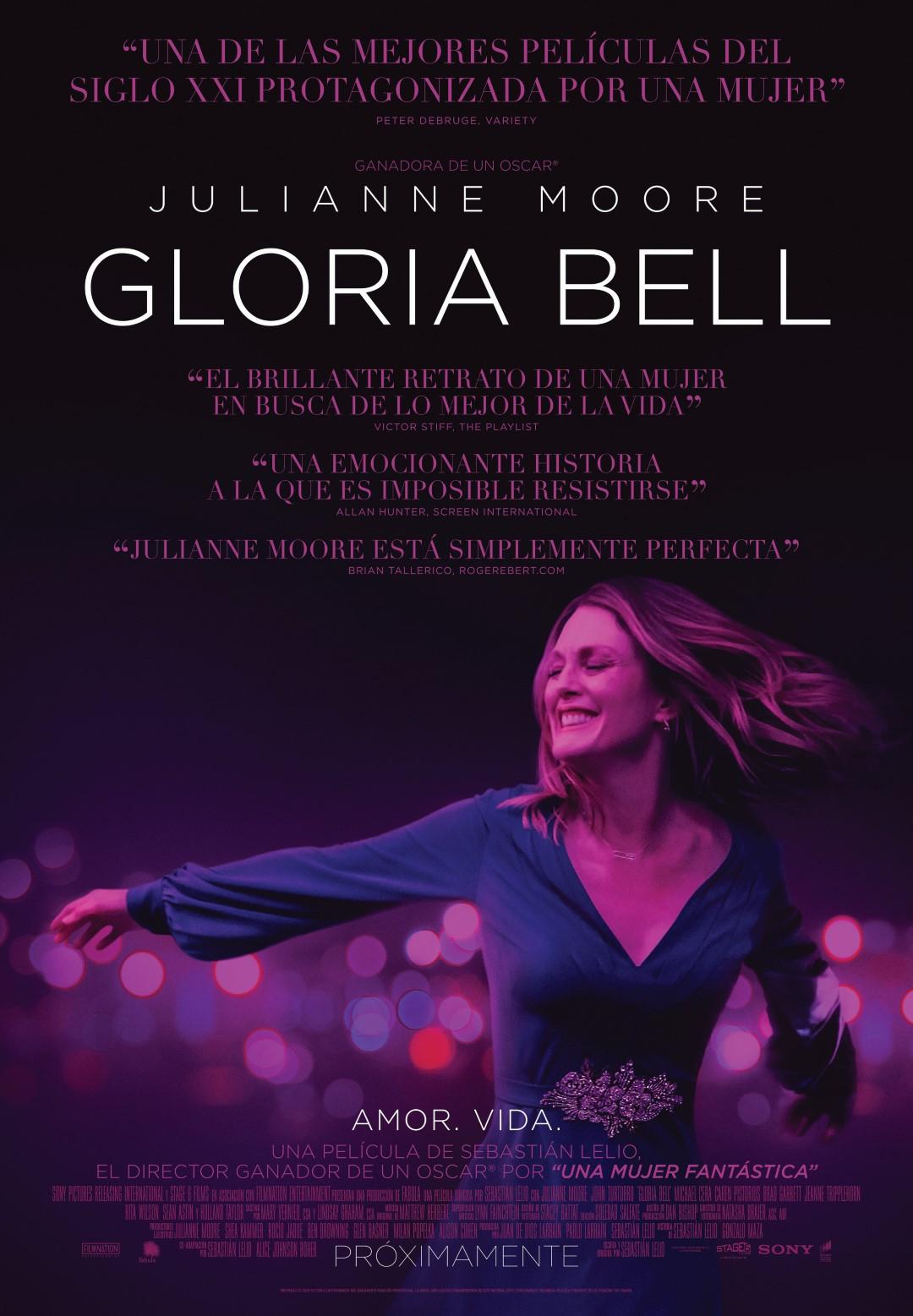 Gloria Bell: Póster y tráiler de la nueva película de Sebastián Lelio