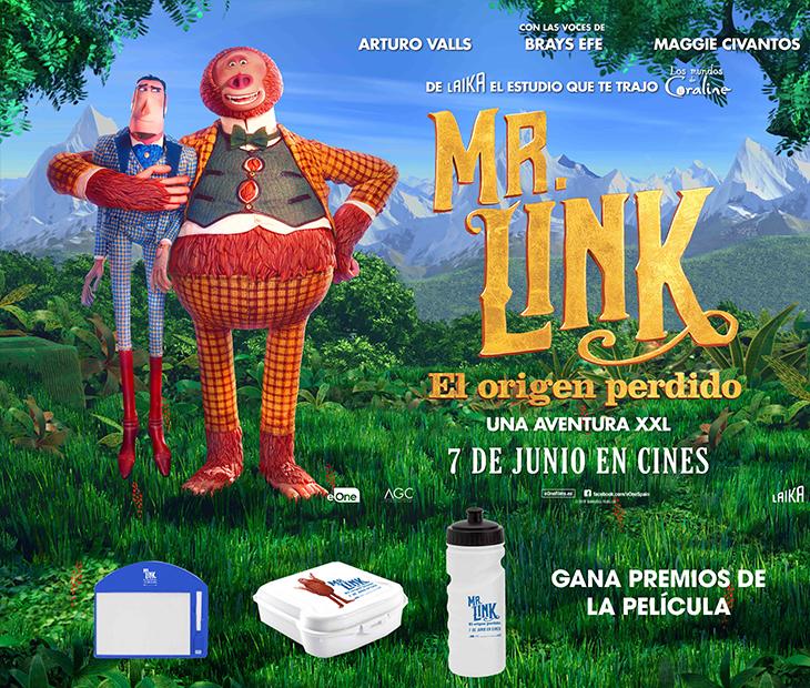 MR.LINK: EL ORIGEN PERDIDO