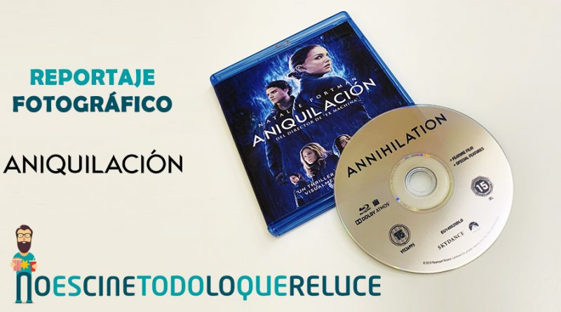 Aniquilación (Bluray)