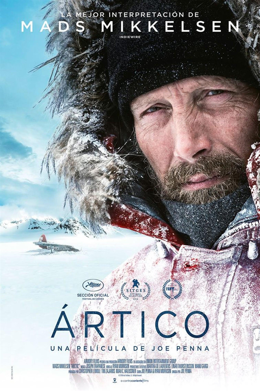 """Pósters de la película """"Ártico"""""""