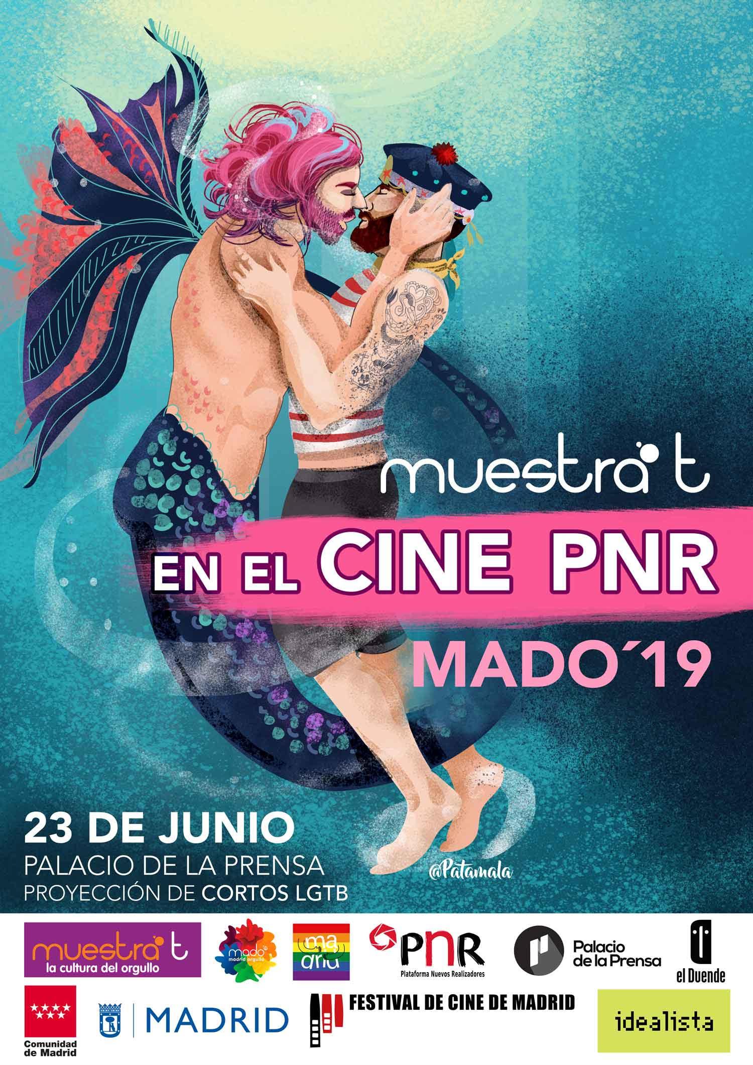 Ciclo de cortos LGBT+ en el Palacio de la Prensa de Madrid