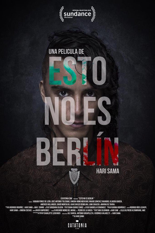 """Pósters de la película """"Esto no es Berlin"""""""