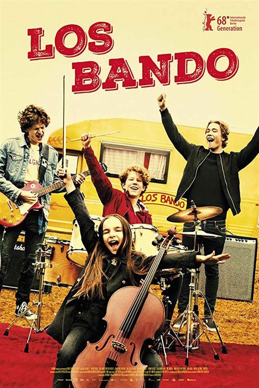 """Pósters de la película """"Los Bando"""""""