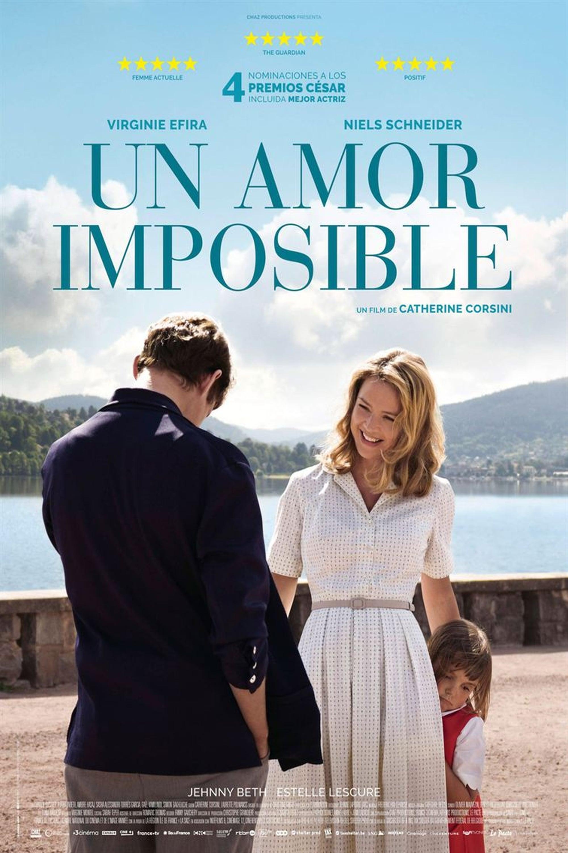 """Pósters de la película """"Un amor imposible"""""""