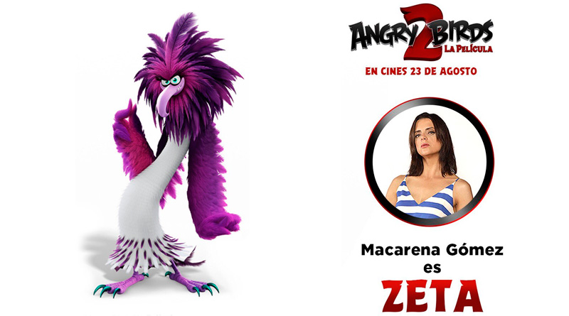 Macarena Gómez se une a 'Angry Birds 2: La Película'