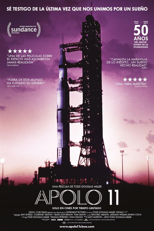 """Pósters de la película """"Apollo 11"""""""