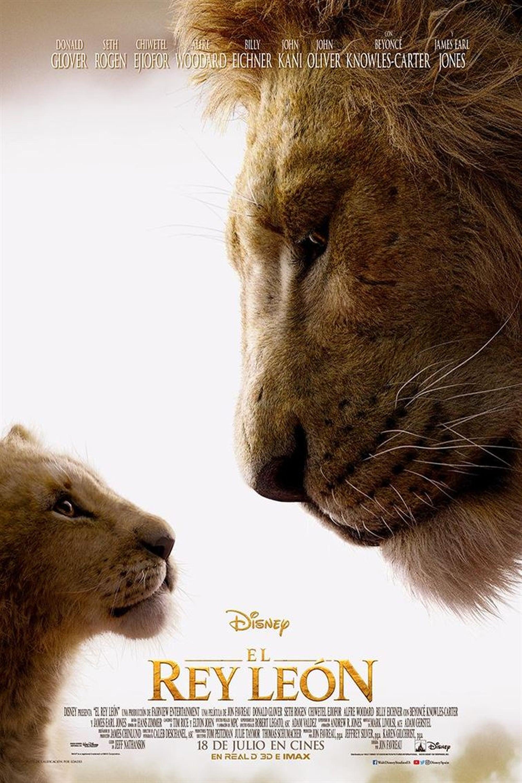 """Pósters de la película """"El Rey León"""""""