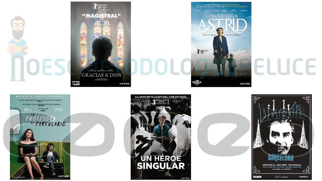 Lanzamientos de agosto en DVD de Cameo