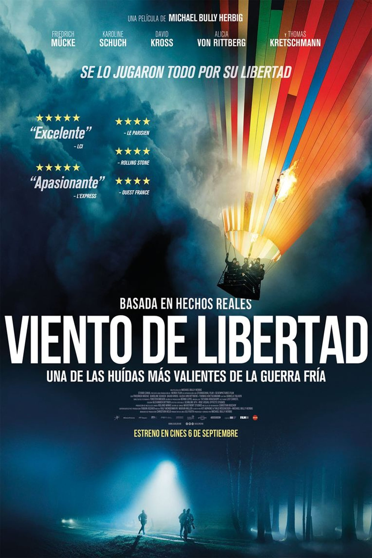 """Pósters de la película """"Viento de libertad"""""""