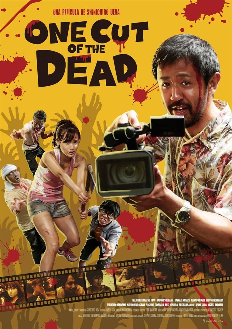 "Pósters de la película ""One Cut of the Dead"""