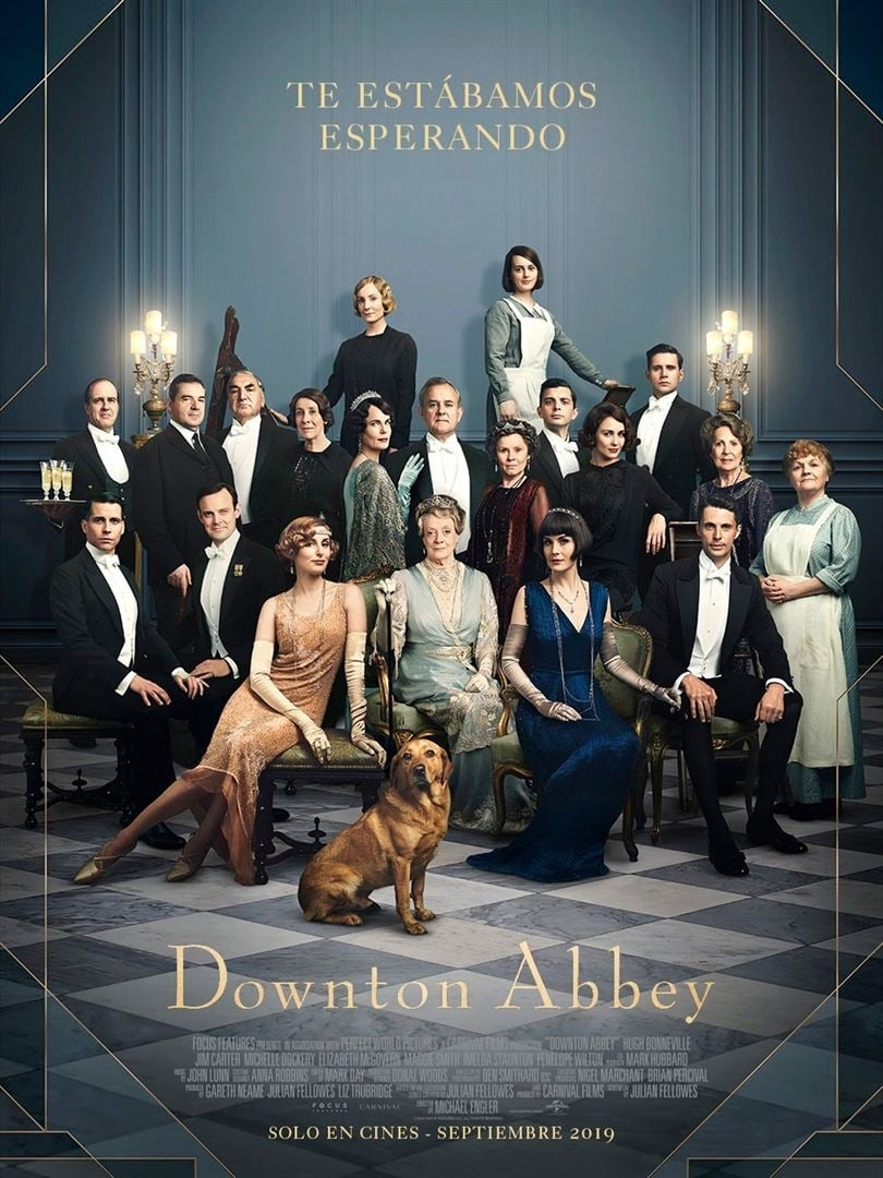 "Pósters de la película ""Downton Abbey"""