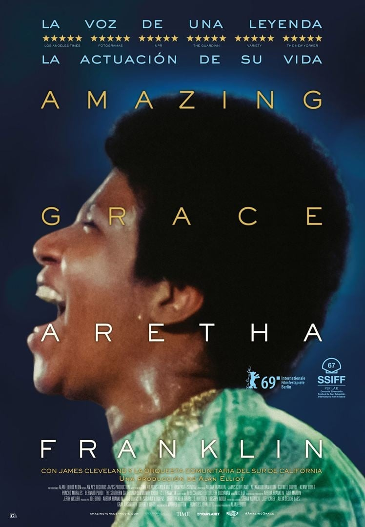 """Pósters de la película """"Amazing Grace"""""""