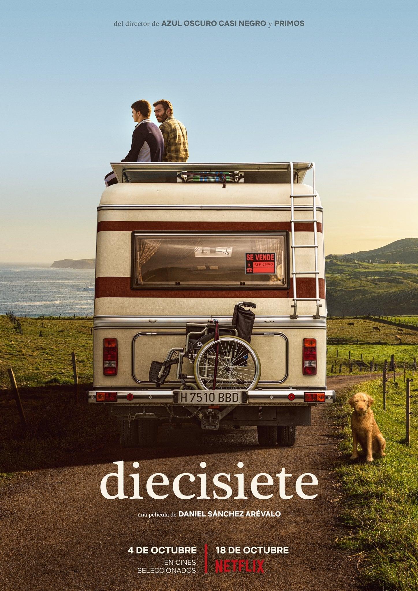 """Pósters de la película """"Diecisiete"""""""