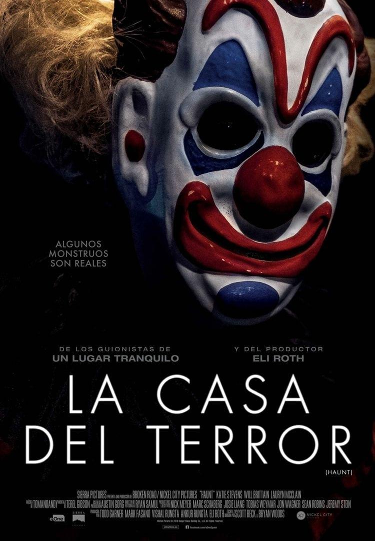 """Pósters de la película """"La casa del terror"""""""