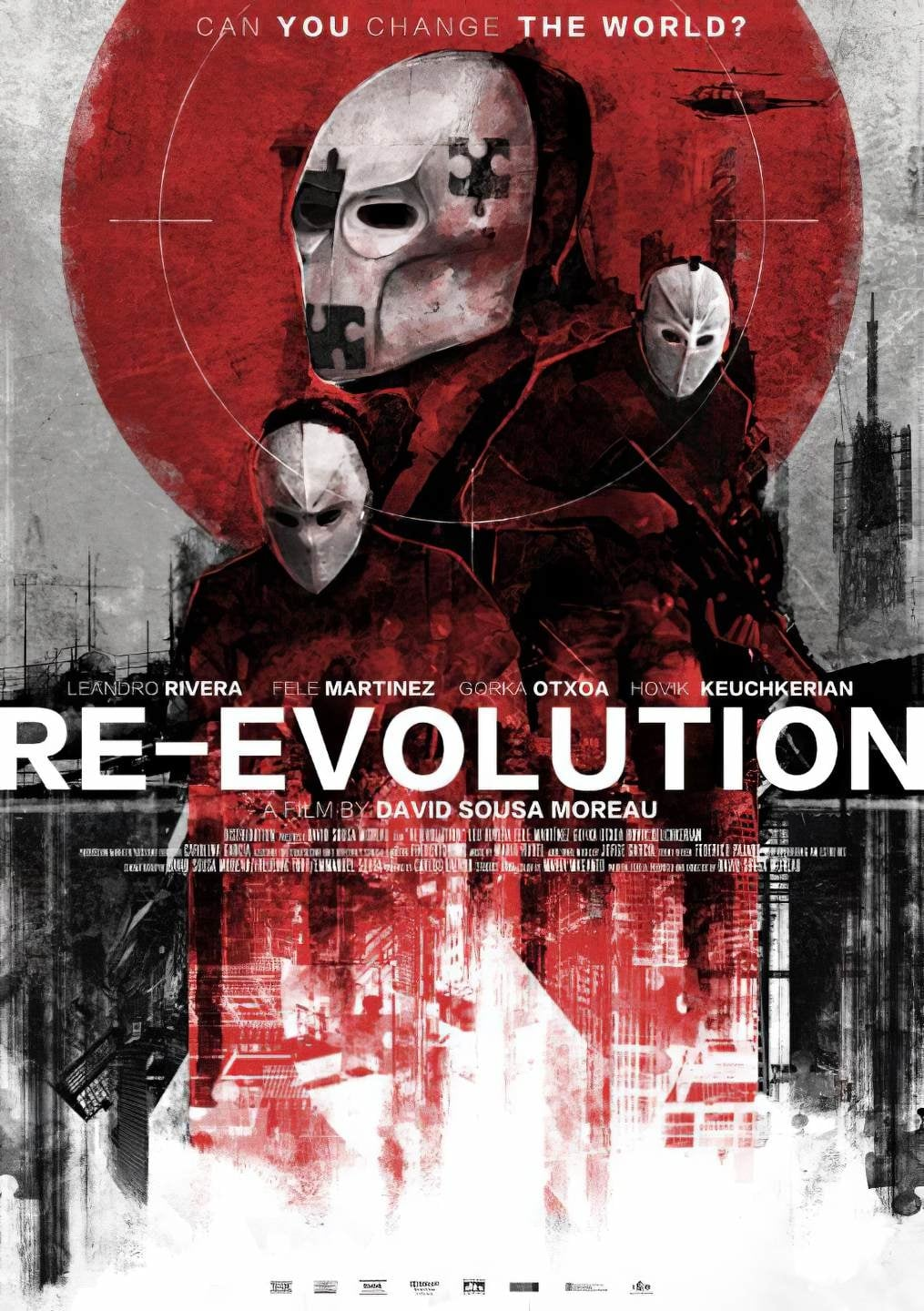"Pósters de la película ""Re-Evolution"""
