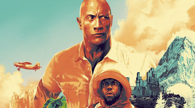 Póster de 'Jumanji: Siguiente Nivel' para salas Dolby Cinema