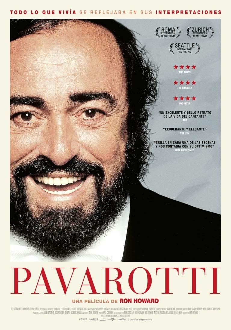 "Pósters de la película ""Pavarotti"""