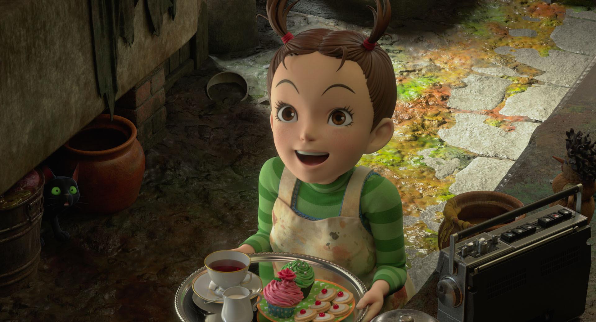 Earwig y la Bruja: Vértigo estrenará en 2021 la película de Studio Ghibli